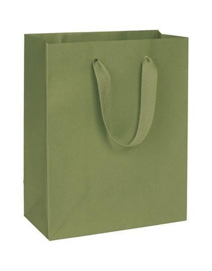 "Greenwich Green Manhattan Eco Euro-Shoppers, 8 x 4 x 10"""