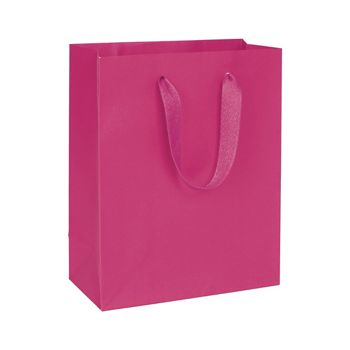 "Fifth Avenue Fuchsia Manhattan Eco Euro-Shoppers, 8x4x10"""