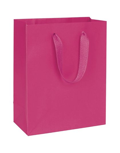 Fifth Avenue Fuchsia Manhattan Eco Euro-Shoppers, 8x4x10""
