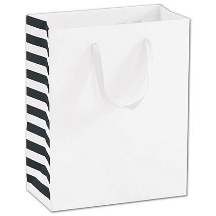 """Washington St. White Manhattan Euro-Shoppers, 8 x 4 x 10"""""""