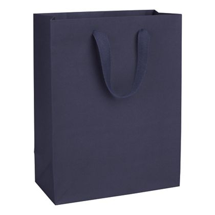 Nolita Navy Manhattan Eco Euro-Shoppers, 10 x 5 x 13