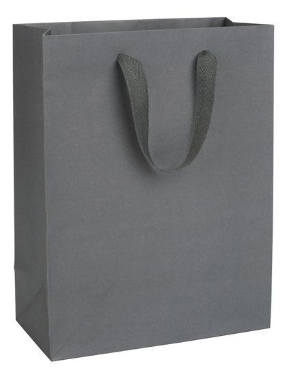 "Empire State Grey Manhattan Eco Euro-Shoppers, 10x5x13"""