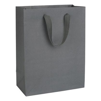 Empire State Grey Manhattan Eco Euro-Shoppers, 10x5x13