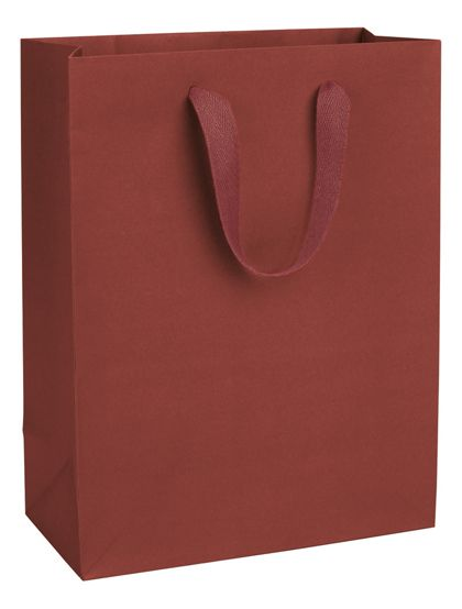 Radio City Red Manhattan Eco Euro-Shoppers, 10 x 5 x 13""