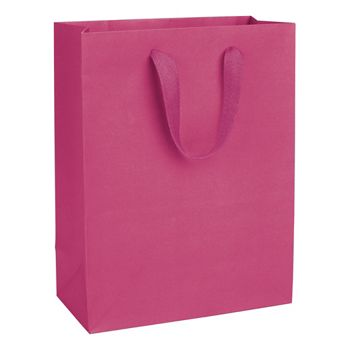 Fifth Avenue Fuchsia Manhattan Eco Euro-Shoppers, 10x5x13