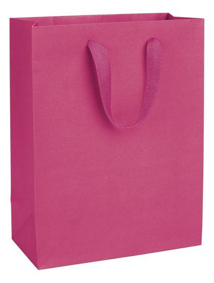 "Fifth Avenue Fuchsia Manhattan Eco Euro-Shoppers, 10x5x13"""