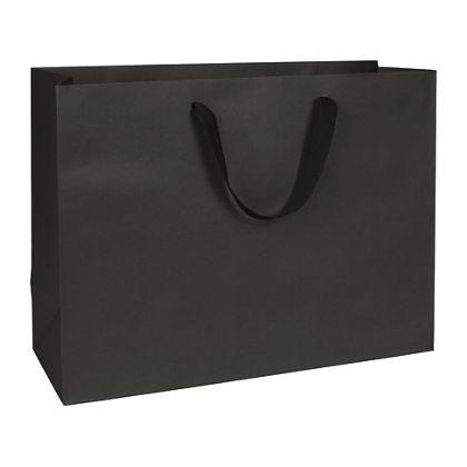 "Broadway Black Manhattan Eco Euro-Shoppers, 16 x 6 x 12"""