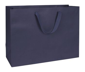 Nolita Navy Manhattan Eco Euro-Shoppers, 16 x 6 x 12