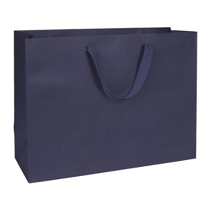 Nolita Navy Manhattan Eco Euro-Shoppers, 16 x 6 x 12