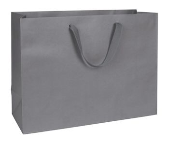 Empire State Grey Manhattan Eco Euro-Shoppers, 16x6x12