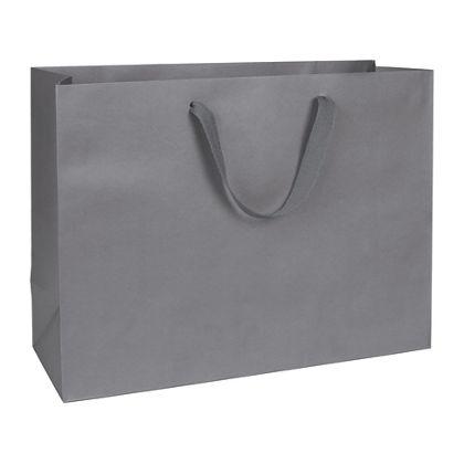 "Empire State Grey Manhattan Eco Euro-Shoppers, 16x6x12"""