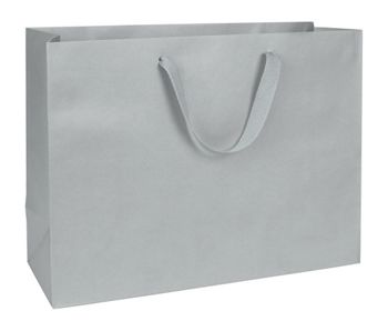 Grand Central Grey Manhattan Eco Euro-Shoppers, 16x6x12