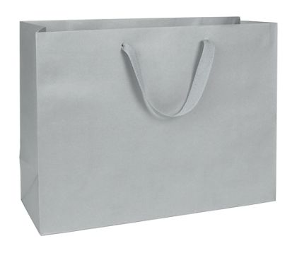 Grand Central Grey Manhattan Eco Euro-Shoppers, 16x6x12""