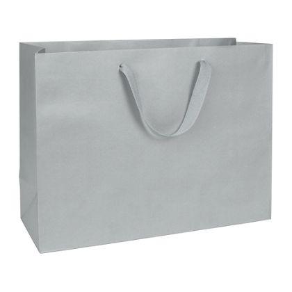 Grand Central Grey Manhattan Eco Euro-Shoppers, 16x6x12