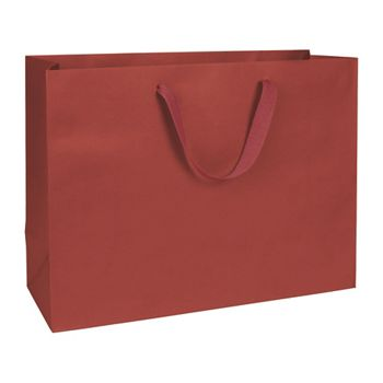 Radio City Red Manhattan Eco Euro-Shoppers, 16 x 6 x 12