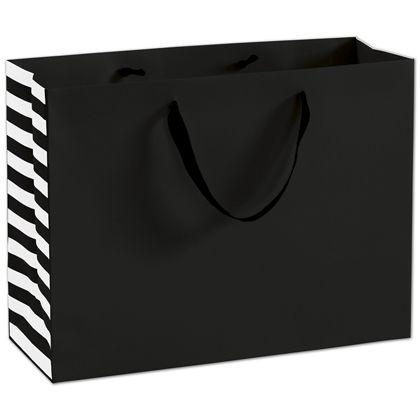"""Bleeker St. Black Manhattan Euro-Shoppers, 16 x 6 x 12"""""""