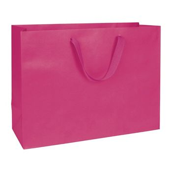 Fifth Avenue Fuchsia Manhattan Eco Euro-Shoppers, 16x6x12""