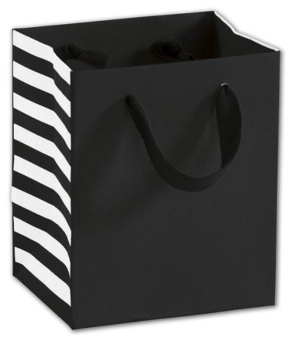 """Bleeker St. Black Manhattan Euro-Shoppers, 5 x 4 x 6"""""""
