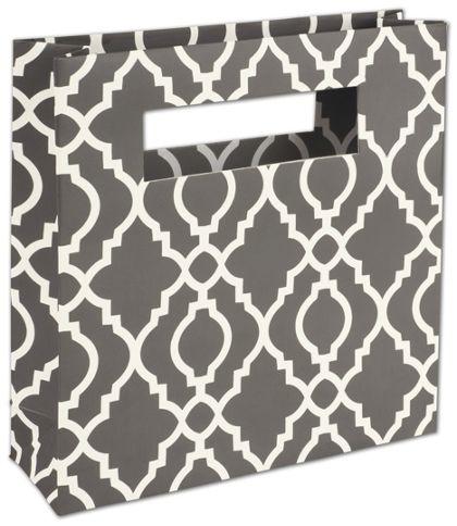 "Trippie Trellis Mod Bag Mini Shoppers, 8 x 2 1/2 x 8"""