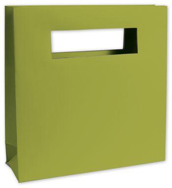 Groovy Green Mod Bag Mini Shoppers, 8 x 2 1/2 x 8