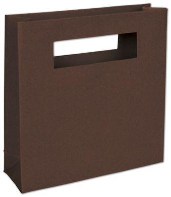 Brown Eco Mod Bags, 8 x 2 1/2 x 8