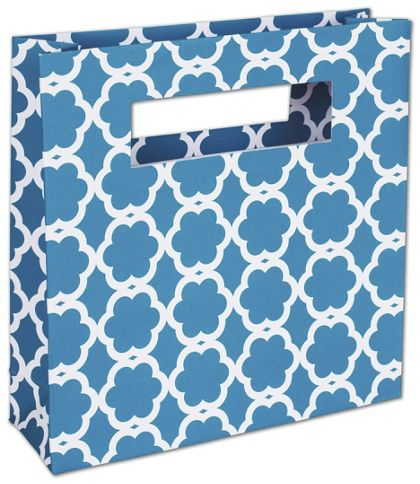 """Blue Blossom Eco Mod Bags, 8 x 2 1/2 x 8"""""""