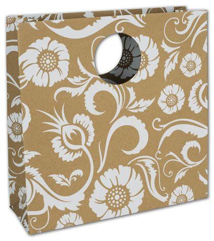 """Flower Kraft Eco Mod Bags, 12 x 4 x 12"""""""