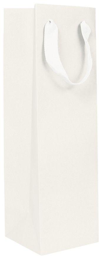 White Manhattan Eco Euro-Shopper Wine Bottle Bags