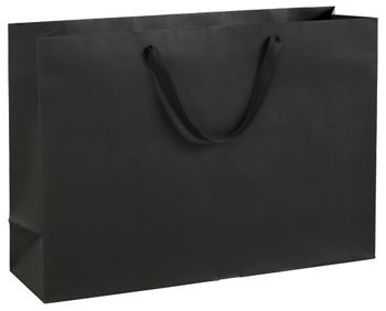Broadway Black Manhattan Eco Euro-Shoppers, 20 x 6 x 14