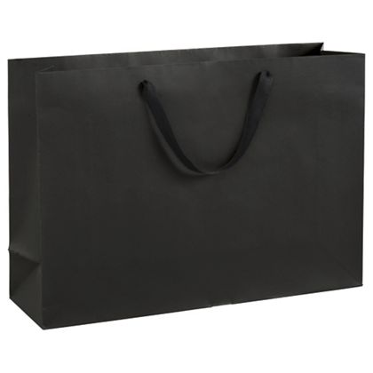"Broadway Black Manhattan Eco Euro-Shoppers, 20 x 6 x 14"""