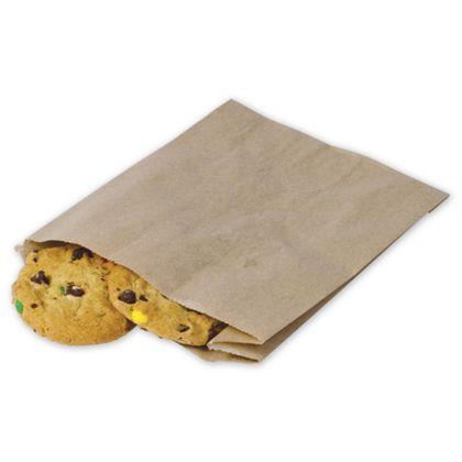 Food Service Sandwich/Pastry Bags, Kraft 6 1/2 x 2 x 8