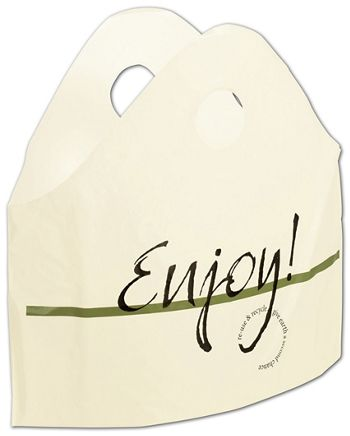 Enjoy Print Wave Bags, 18 x 16 + 9