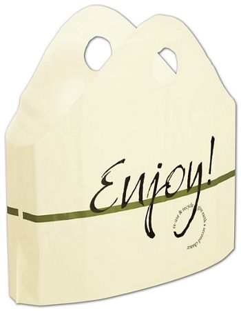 Enjoy Print Wave Bags, 21 x 18 + 10