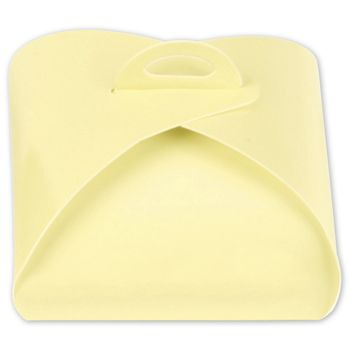 Cream Truffle Totes, 4-Piece, 3 x 3 x 1 5/8