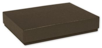 Brown Decorative Candy Boxes, 6 3/8 x 4 3/4 x 1 3/16