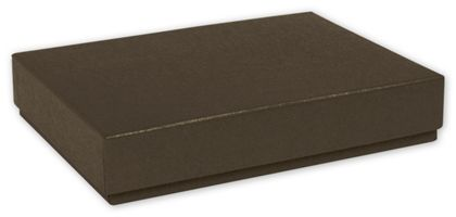 Brown Decorative Candy Boxes, 6 3/8 x 4 3/4 x 1 3/16""