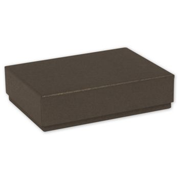 Brown Decorative Candy Boxes, 4 3/4 x 3 1/4 x 1 3/16