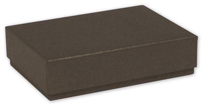 Brown Decorative Candy Boxes, 4 3/4 x 3 1/4 x 1 3/16""