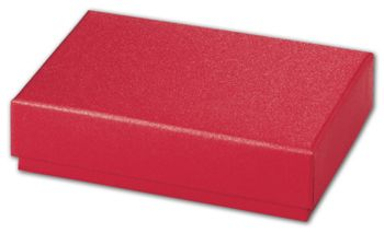 Red Sparkle Decorative Candy Boxes, 4 3/4 x 3 1/4 x 1 3/16