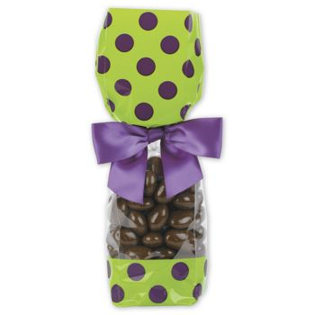 Pistachio Cello Bags, 2 5/8 x 1 7/8 x 10 3/4