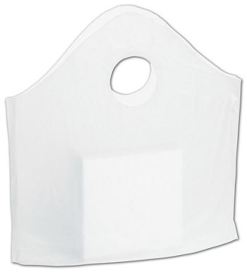 Clear Utility Bags, 12 x 12 + 3