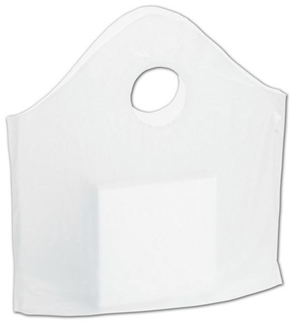 "Clear Utility Bags, 12 x 12 + 3"" Bottom Gusset"