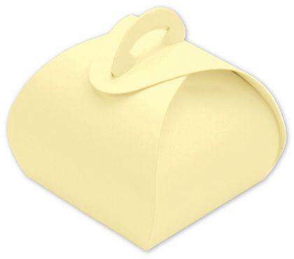 "Cream Single Truffle Totes, 1 1/2 x 1 1/2 x 1 1/4"""