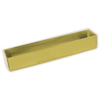 Gold Colored Boxes with Lids, 5-Piece