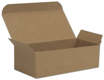 Kraft One-Piece Candy Boxes, 5 1/2 x 2 3/4 x 1 3/4