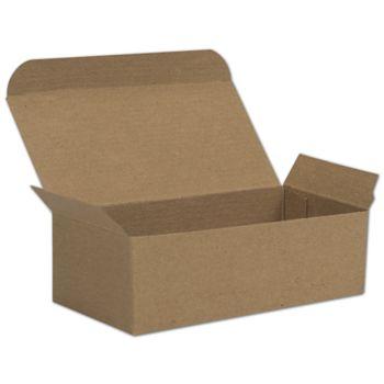 Kraft One-Piece Candy Boxes, 5 1/2 x 2 3/4 x 1 3/4