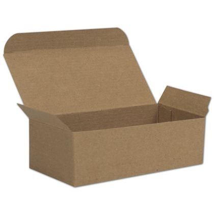Kraft One-Piece Candy Boxes, 5 1/2 x 2 3/4 x 1 3/4""