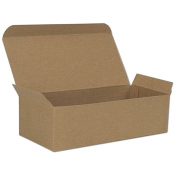 Kraft One-Piece Candy Boxes, 7 x 3 3/8 x 2