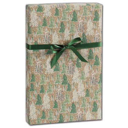 "Opulent Tree Gift Wrap, 30"" x 417'"