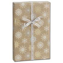 """Snowflake Sky Gift Wrap, 30"""" x 208'"""